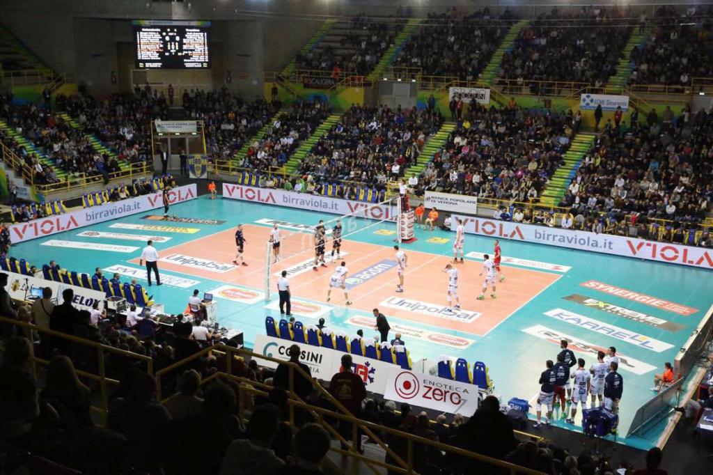 Viola in campo con Blu Volley Verona