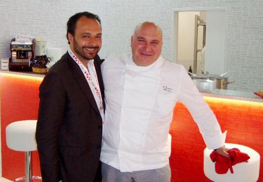 With the Chef Pietro Zito