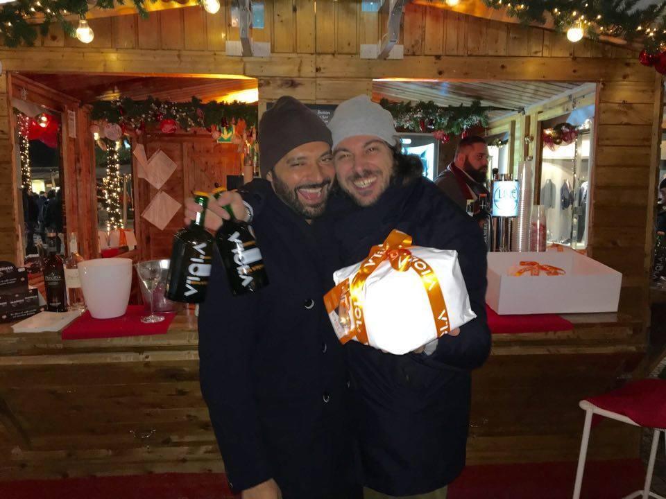 Christmas together with the handmade Panettone Viola